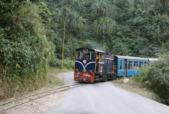 The little Darjeeling train