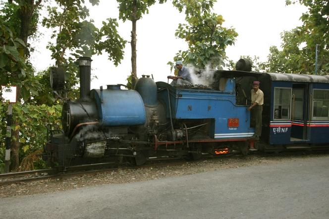 """The """"Toy Train"""" running from Jalpaiguri to Darjeeling"""