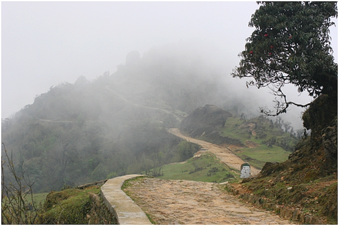 In the Nepalese mist…