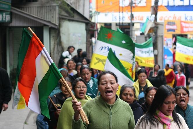 In Darjeeling, a separate state is subject of debate