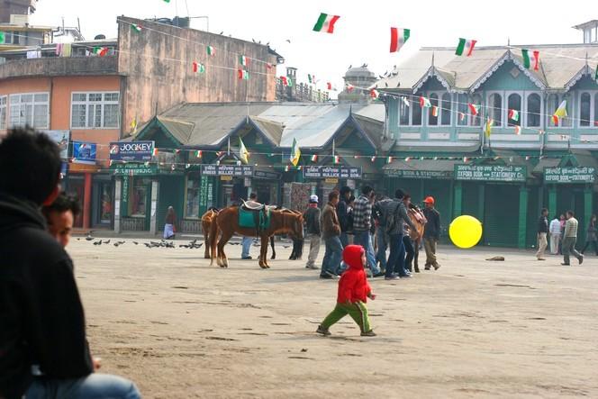 Chowrasta, the heart of Darjeeling