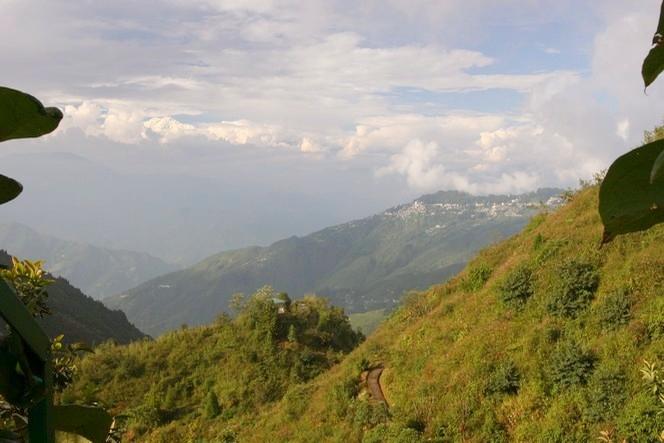 The Kanchenjunga overhangs Darjeeling