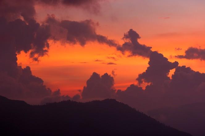 Darjeeling sunset