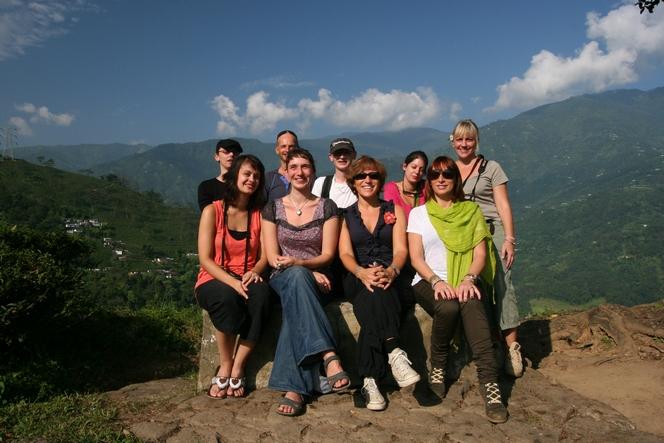 Le Palais des Thés on a trip to Darjeeling