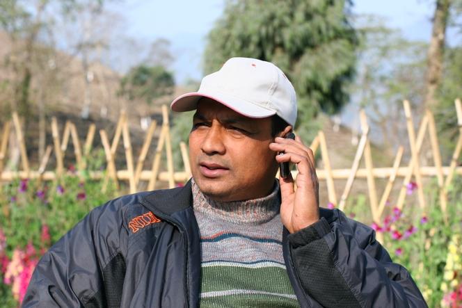 Abhishek Dev, tea grower at Teesta Valley Tea Estate