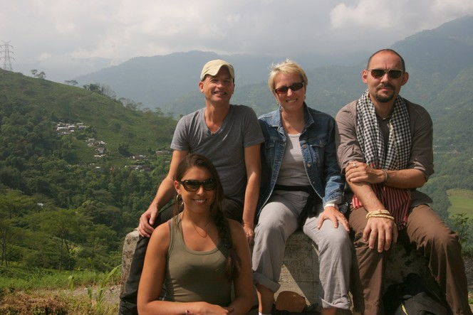 Le Palais des Thés team in Darjeeling