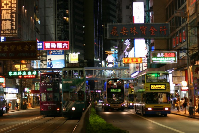 An olfactory journey in the streets of Hong Kong