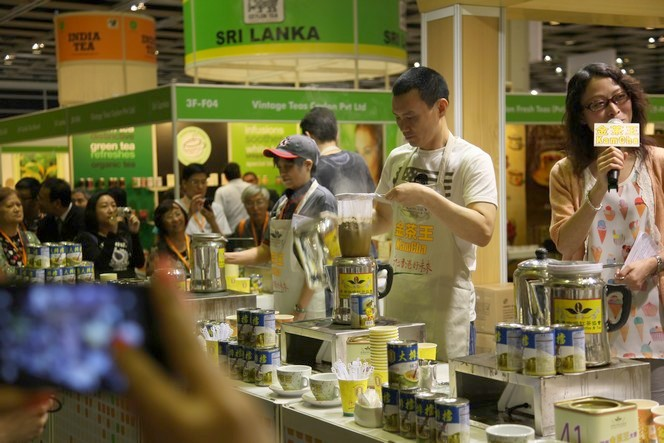 Price hike at the Hong Kong tea fair