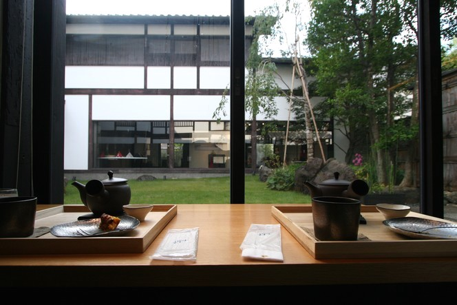 The Zen Kashoin tea room in Kyoto