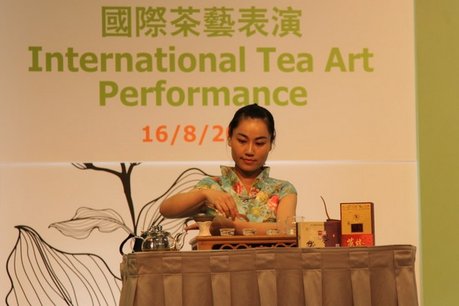 A show detailling how to prepare tea