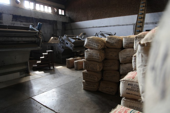 The smell of tea factories