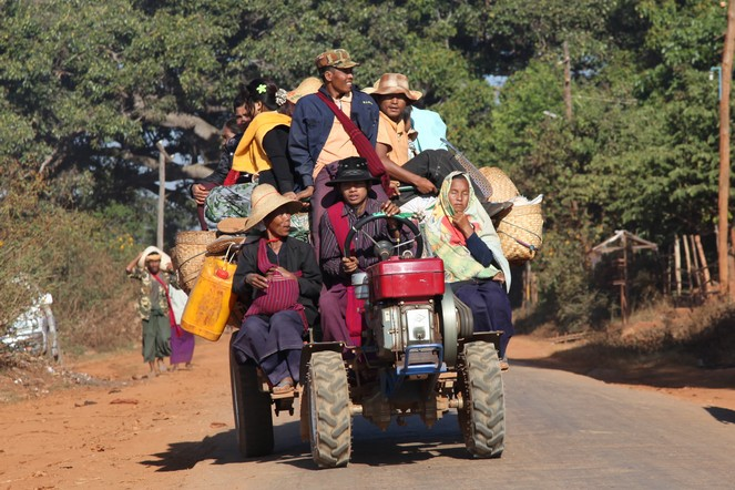 En route for Shan State and the mountains of the Golden Triangle