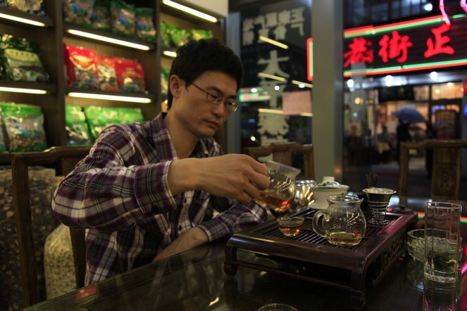 Infatuation with black tea in China