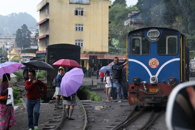The Toy Train of Darjeeling sets off!