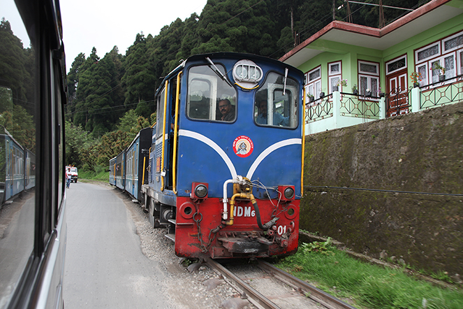 The Darjeeling Toy Train knows how to take its time