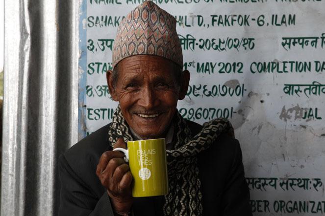 Rana Bahadurdiyali, founder of the Teenjure co-operative