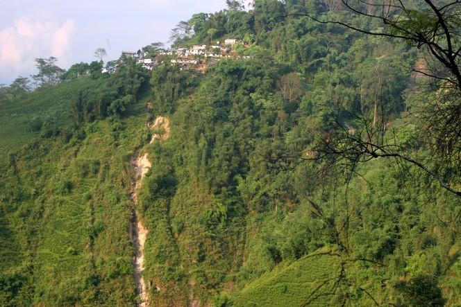 India: heavy rains cause landslides