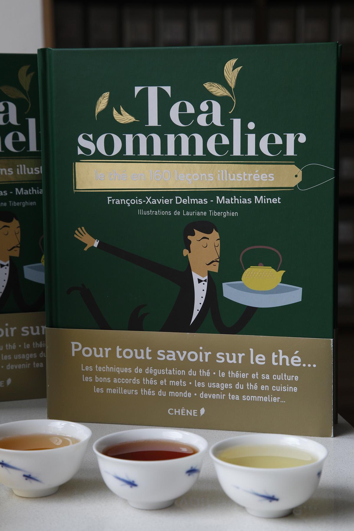 """Tea sommelier"", the book"